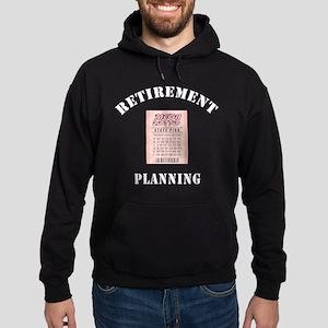Funny Retirement Plan Hoodie (dark)