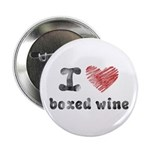 """I Love Boxed Wine 2.25"""" Button (10 pack)"""