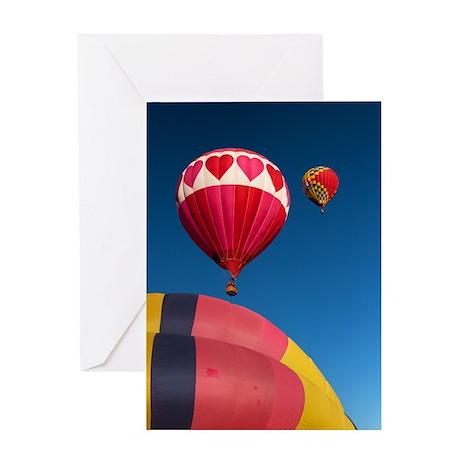 Hot Air Balloons 6149 Greeting Card