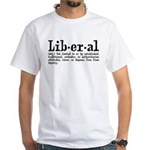 Definition of Liberal White T-Shirt
