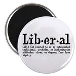 """Definition of Liberal 2.25"""" Magnet (10 pack)"""