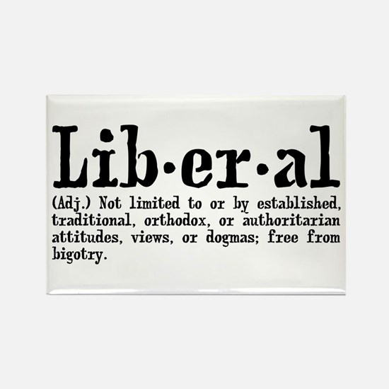 Definition of Liberal Rectangle Magnet