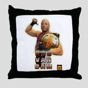 WSW ROB VAN DAM CHAMPION 1 Throw Pillow