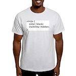 CSS Ninja Light T-Shirt
