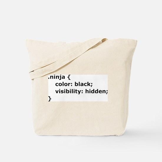 CSS Ninja Tote Bag