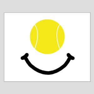 Tennis Smile Small Poster