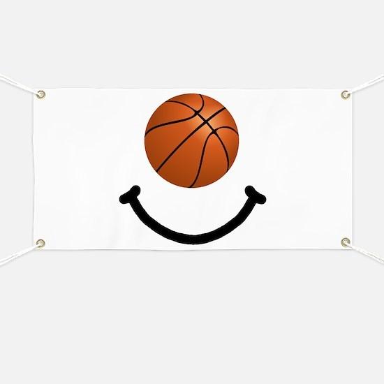 Basketball Smile Banner