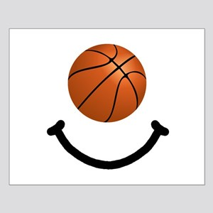Basketball Smile Small Poster