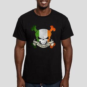 O'Reilly Skull Men's Fitted T-Shirt (dark)