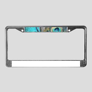 Blue Eyes License Plate Frame