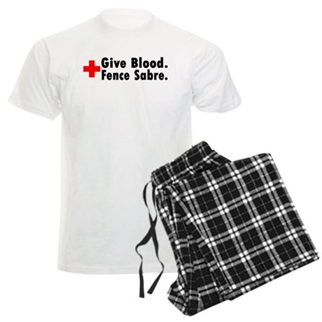Blood Donation Men's Light Pajamas