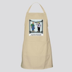 Metal Stress Not Fixed W/ Drugs Apron