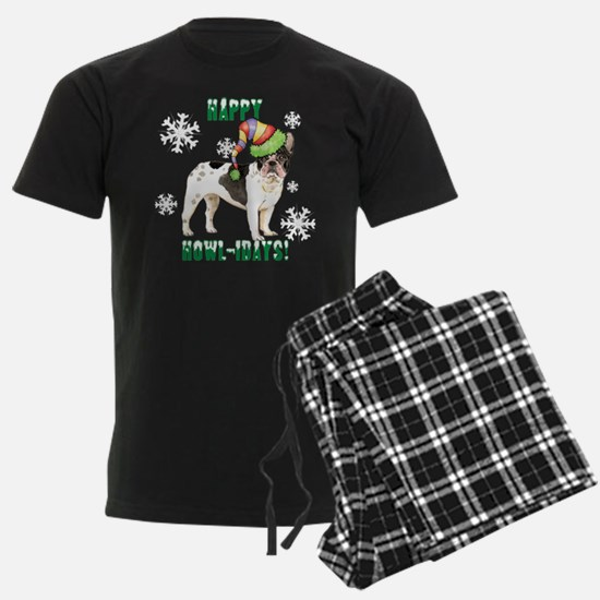 Holiday French Bulldog Pajamas