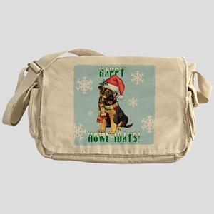 Holiday GSD Messenger Bag