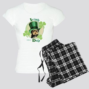 St. Patrick Yorkie Women's Light Pajamas