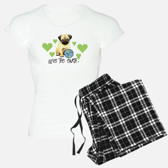 Earth Day Pug Pajamas