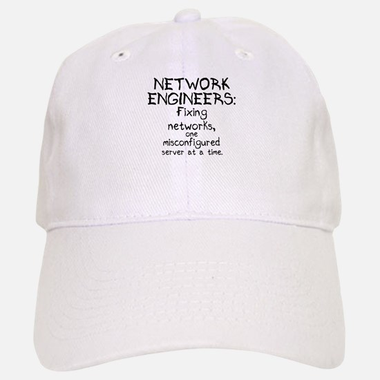 Network Engineers Baseball Baseball Cap