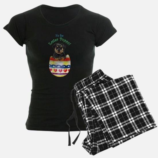 Easter Rottweiler Pajamas
