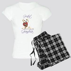 Bichon Grandma Women's Light Pajamas