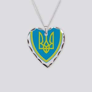 Crest Necklace Heart Charm