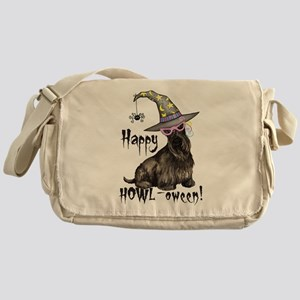 Halloween Scottie Messenger Bag