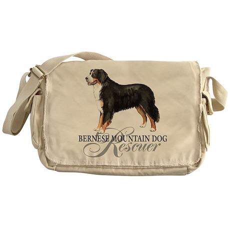 Bernese Mountain Dog Rescue Messenger Bag