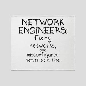 Network Engineers Throw Blanket