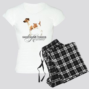 Smooth Fox Terrier Rescue Women's Light Pajamas