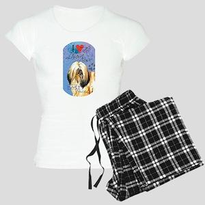 Lhasa Apso Women's Light Pajamas