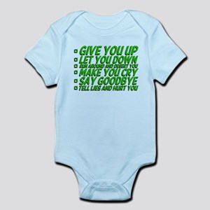 Rick Roll'd Infant Bodysuit
