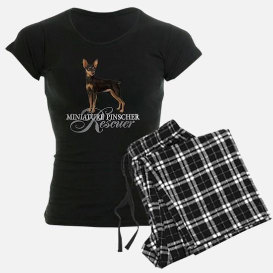 Min Pin Rescue Pajamas