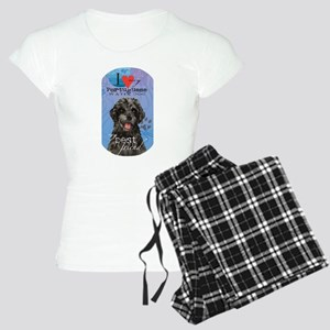 Portuguese Water Dog Women's Light Pajamas