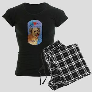 Pyrenean Shepherd Women's Dark Pajamas