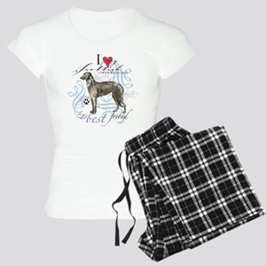 Scottish Deerhound Women's Light Pajamas