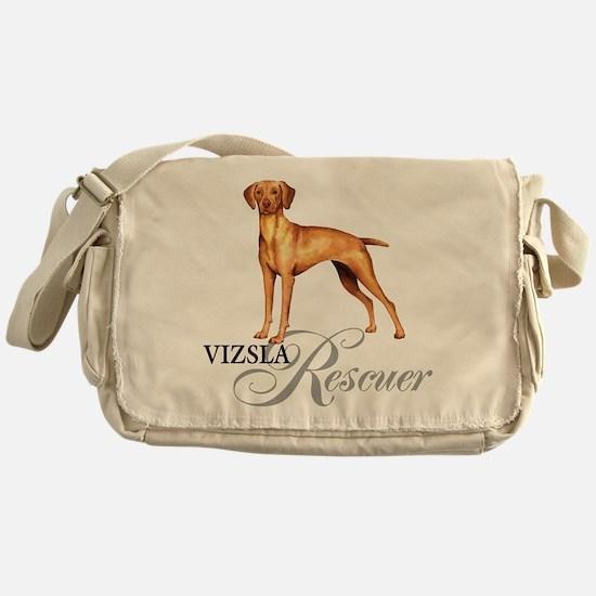Vizsla Rescue Messenger Bag