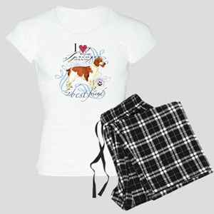 Welsh Springer Spaniel Women's Light Pajamas