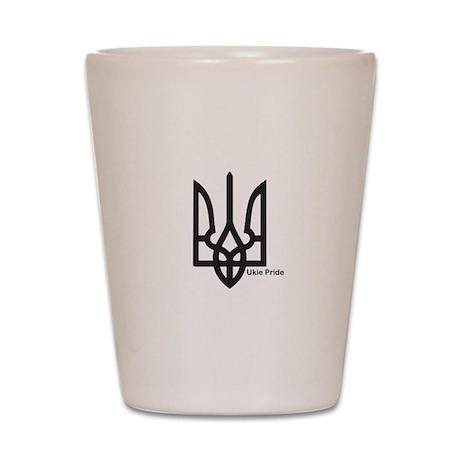 Tryzub Shot Glass