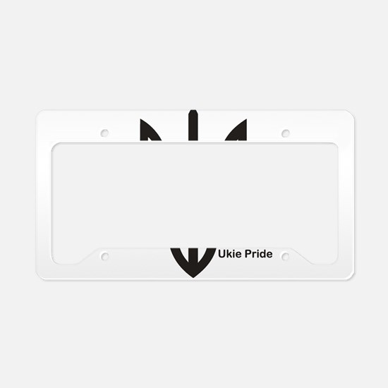 Tryzub License Plate Holder