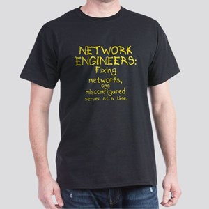 Network Engineers Dark T-Shirt
