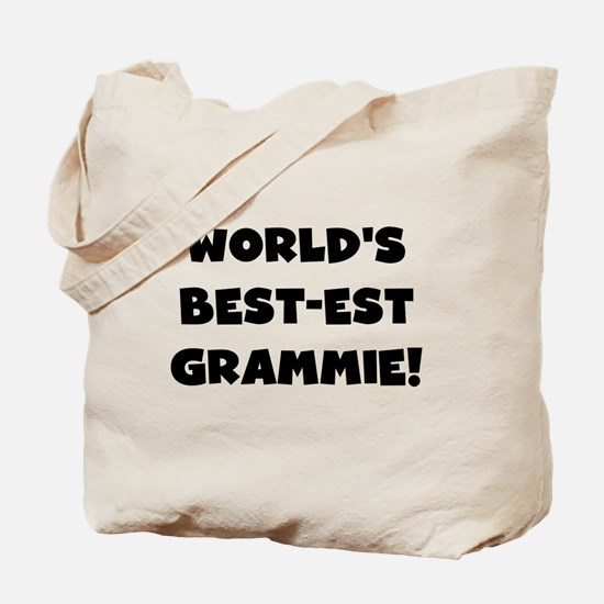 Black and White Best-est Grammie Tote Bag