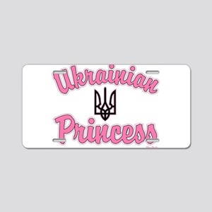 Ukie Princess Aluminum License Plate