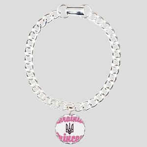 Ukie Princess Charm Bracelet, One Charm