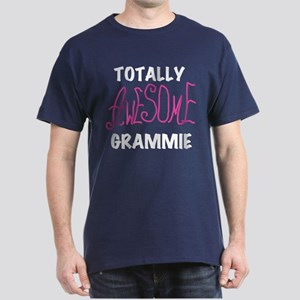 Pink Awesome Grammie Dark T-Shirt