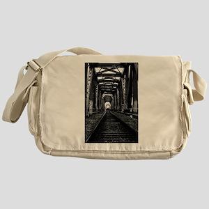 Train Bridge Messenger Bag