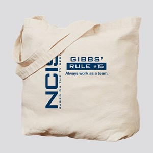 NCIS Gibbs Rule #15 Tote Bag