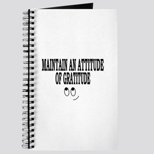 Maintain An Attitude Of Gratitude Journal