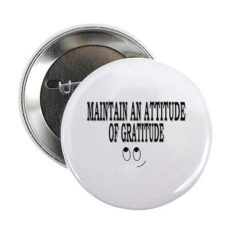 "Attitude Of Gratitude 2.25"" Button (100 pack)"