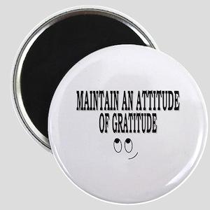 Attitude Of Gratitude Magnet