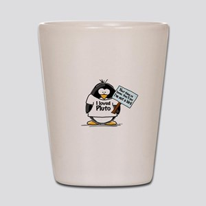 Pluto Penguin Shot Glass