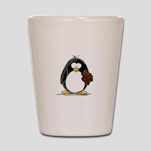 Chocolate Brownie Penguin Shot Glass